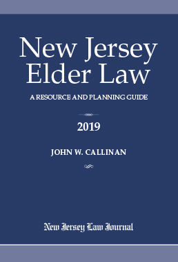 New Jersey Elder Law: A Resource and Planning Guide book cover